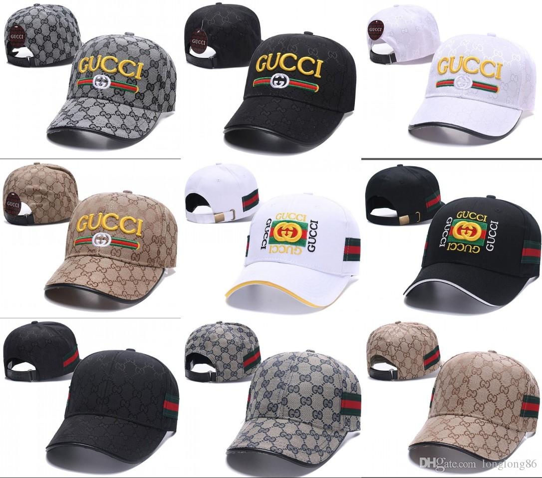 a2ebd70e5b16f 2019 Mens Baseball Cap Luxury Designer Caps Embroidery Dad Hats For Men  Snapback Basketball Hat Golf Sport Adjustable Gorras Bone Casquette Skull  Caps Men ...