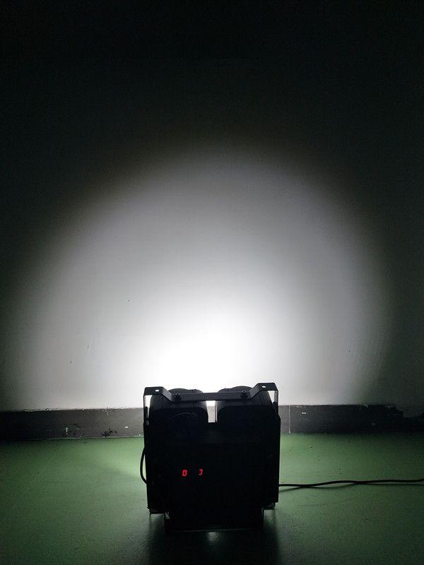 DMX512 IP20 COB 4 Eyes 4x100W white&warm white 2 in 1 Stage Led Audience led blinder Light
