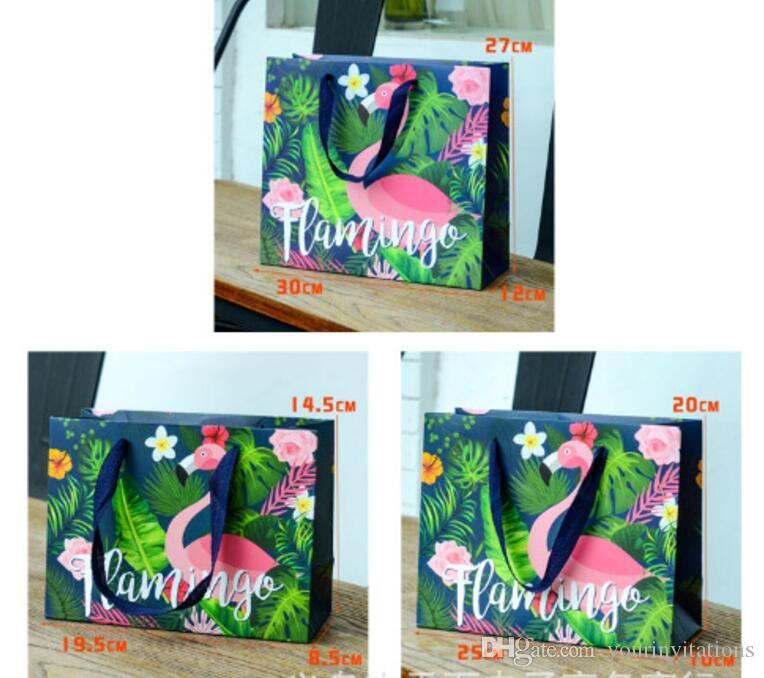 Forest Style Paper Handbag Wedding Favor Bags Handbag With 3