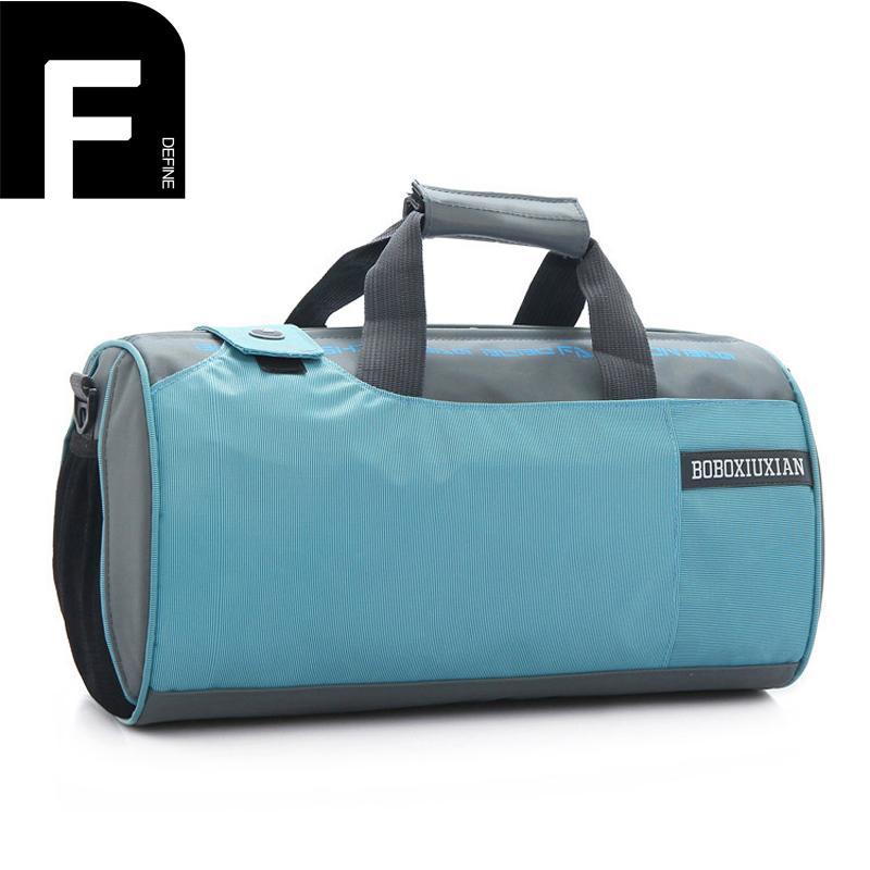 cb727679311d Portable Cylinder Travel Bag Men Short Trip Bags For Travelling Nylon  Luggage Bag Multifunctional Women Travel Shoulder Handbag Toiletry Bags  Best Gym Bags ...