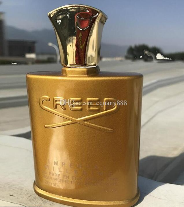 Haute 120ml Gamme Le Fragra Gratuite Durable Nouvel Parfum Livraison D Nce Haut Qualité Homme De Creed 2018 Or Bouteille sChQtrd