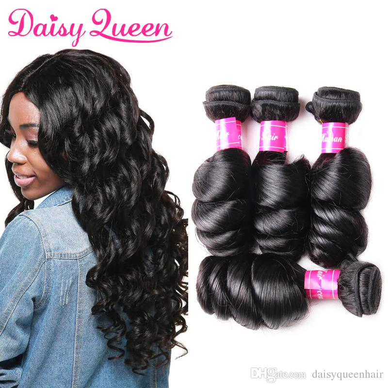 Brazilian Loose Wave Virgin Hair Extensions Wholesale Cheap 8a