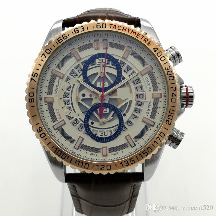 Großhandel Herren Armbanduhren Top Lucury Marke Tag Caraera Marken