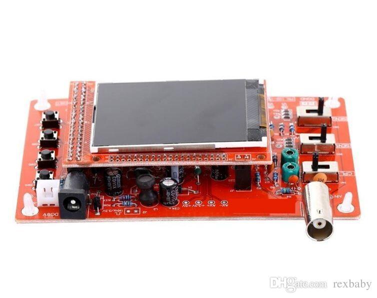 DSO138 Osciloscopio digital Kit de bricolaje Piezas de bricolaje para hacer osciloscopios Herramienta de diagnóstico electrónico Aprendizaje del osciloscopio Set 1Msps