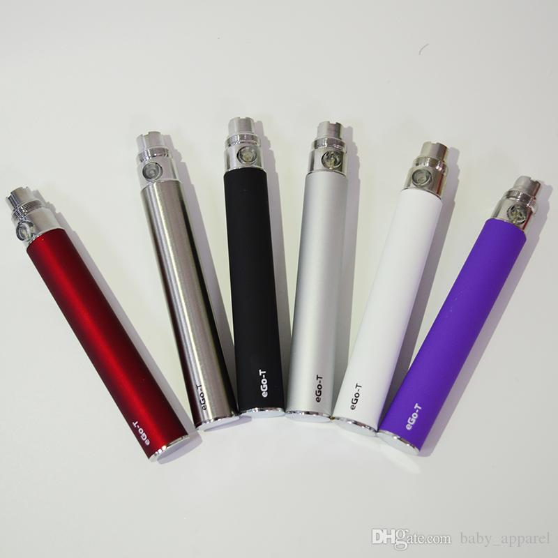 EGO t Batteria 510 batterie Vape Batteria 650mah 900mah 1100mah E-cig Ego T sigaretta elettronica 510 Thread 92A3 CE4 Serbatoio Vape Pen