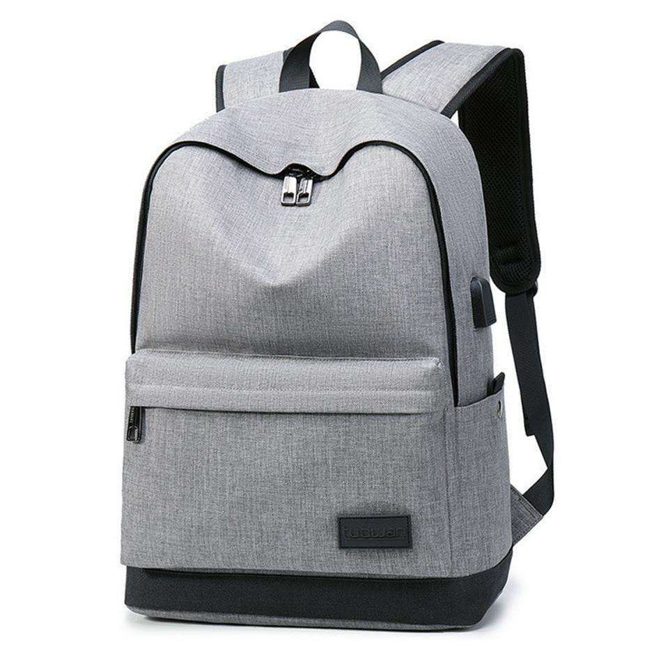 af45a609db93 Men Polyester Solid Big Shool Book Backpack For Teenager Preppy Style Boy  Back Shoulder Bag Big Capacity Laptop Bags Wholesale Backpacks For Men  Jansport ...