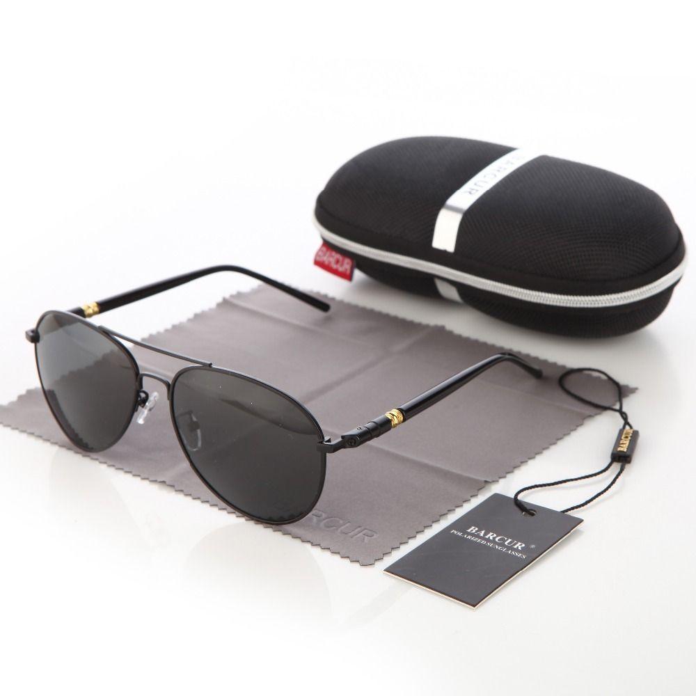 491f19c964 BARCUR Brand Sun Glass With Box Free Polarized Sunglasses Men Driving Sun  Glasses Women Oculos UV 400 Sunglasses D18102305 NZ 2019 From Yizhan03