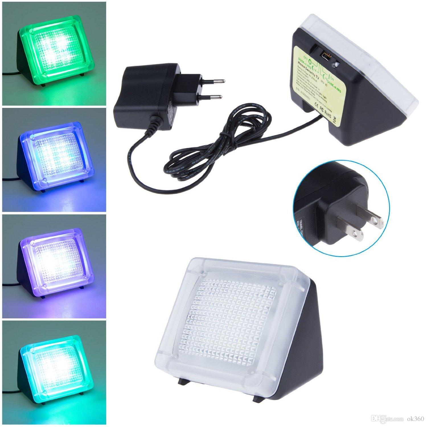 Fake tv led security sensor light built in light sensortimer fake tv led security sensor light built in light sensortimer burglar deterrent home security night light tv sensor fake tv led light tv security light mozeypictures Image collections