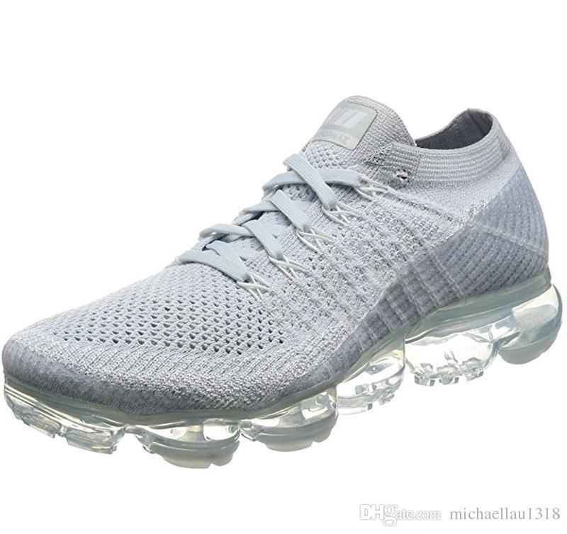 cheap for discount 0e208 bcd3e Newest Running Shoes 2018 Vapormaxes For Men Women Classic Outdoor Sports  Shoes Vapor Outdoor Athletic Hiking Jogging Sneakers Shoes 36-45
