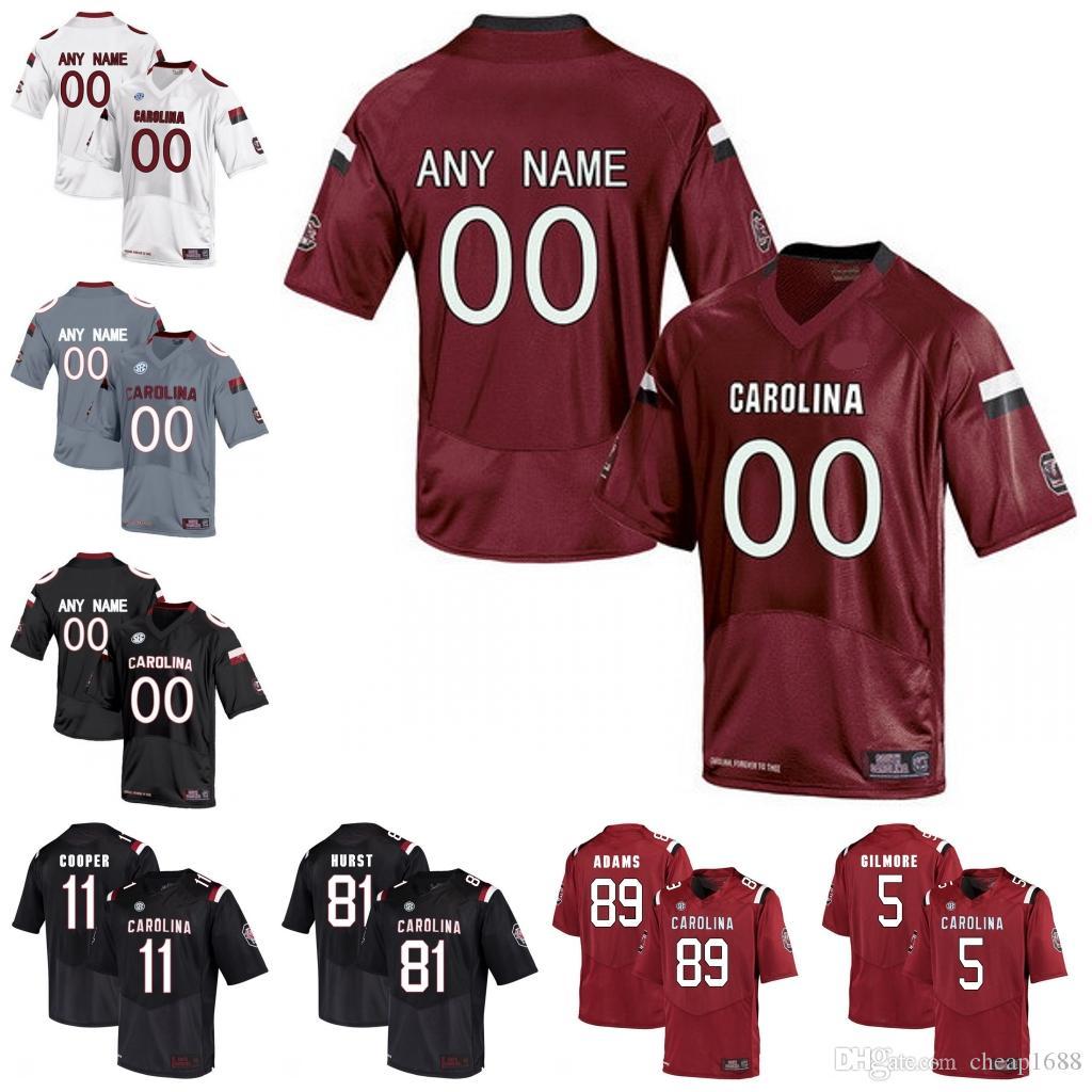 c42524df613 Satın Al NCAA Güney Carolina Gamecocks # 1 Deebo Samuel 5 Rico Dowdle 25  A.J. Turner 81 Hayden Hurst College Futbol Forması, $22.34 | DHgate.Com'da