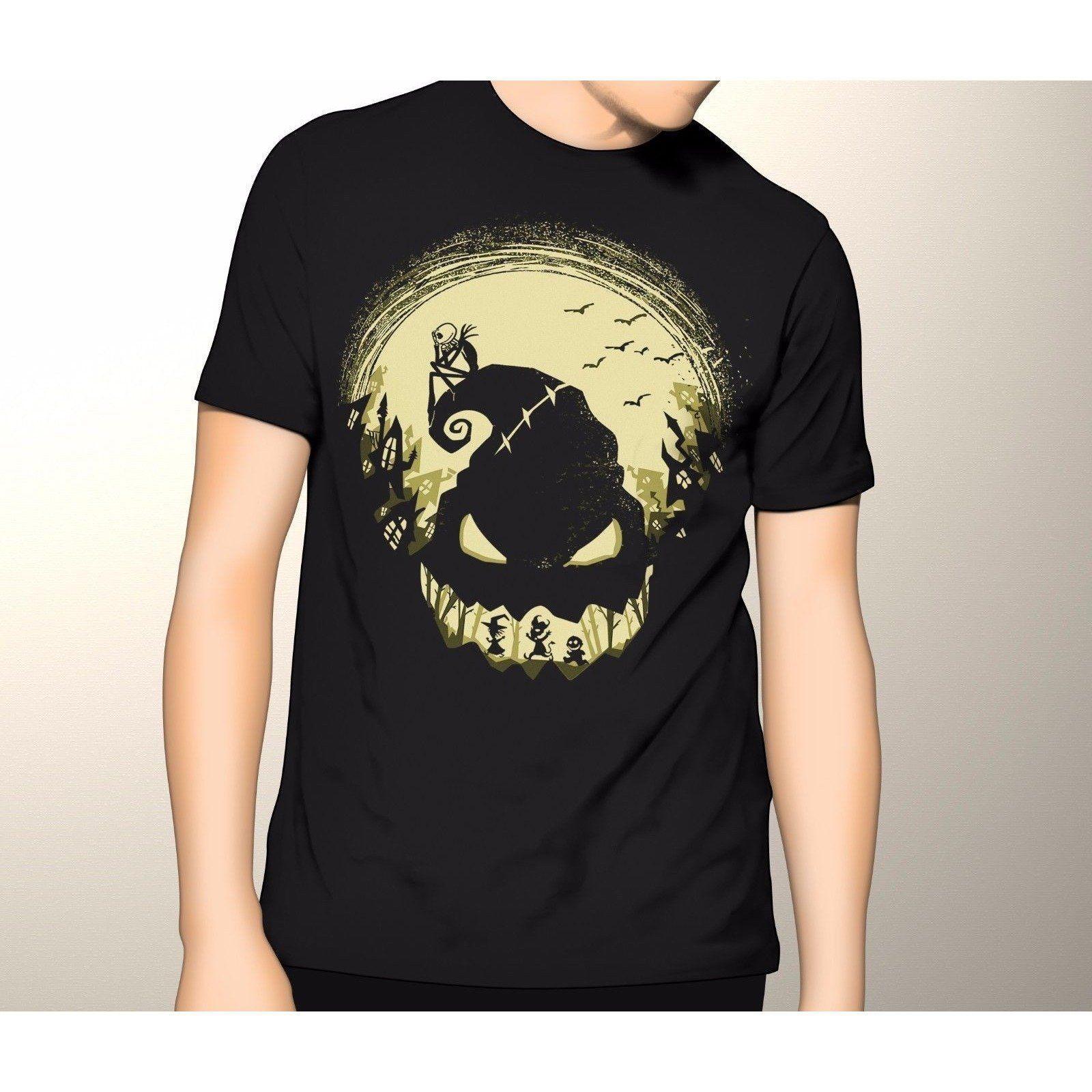 Nightmare Before Christmas Jack Skellington Boogie Man T Shirt S 6XL ...