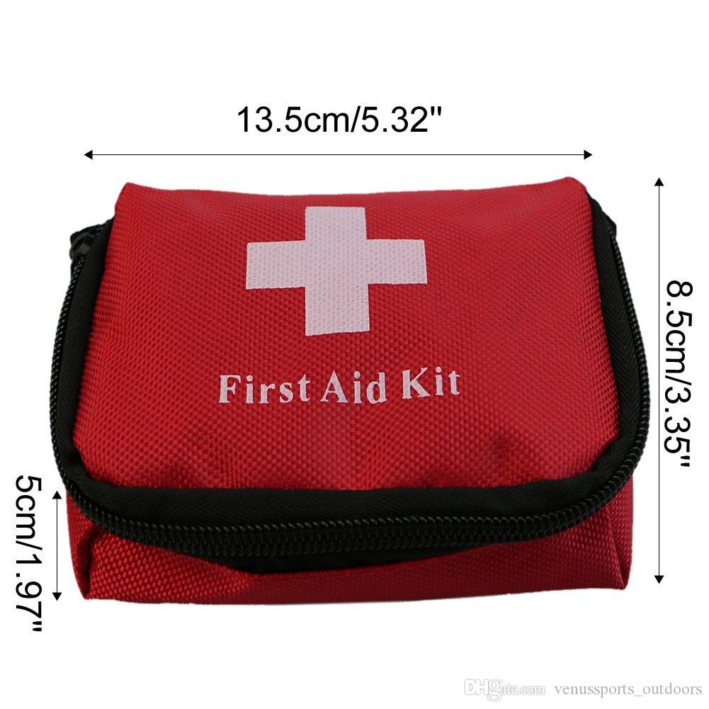 Bolsas al aire libre Viajes Deportes Hogar Bolsa médica Coche al aire libre Supervivencia de emergencia Mini Kit de primeros auxilios Bolsa vacía Bolsa EDC