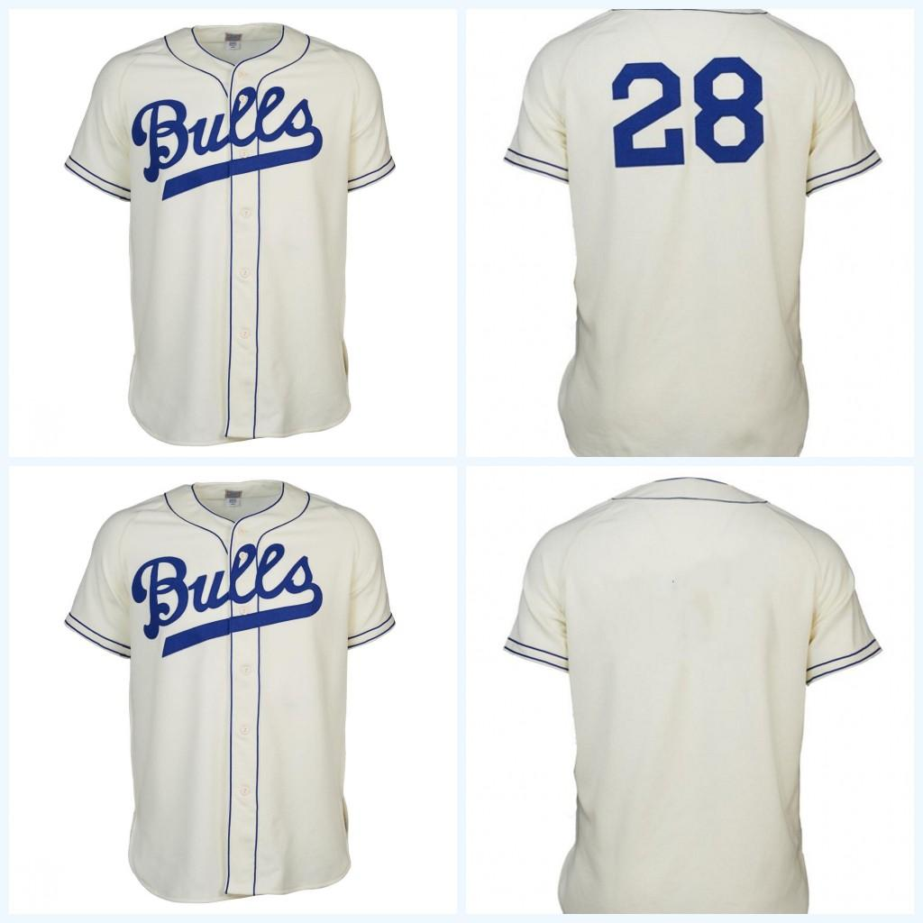 Durham Bulls 1947 Home Jersey Movie Baseball Jersey 100% Stitched Name    Number   Logos For Mens Womens Youth S XXXL UK 2019 From Projerseyfactory e6a6d80ed7