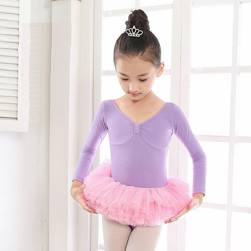 17549692f7f8 2019 Ballet Dress Girls Gymnastics Leotard For Dance Children Ballet ...