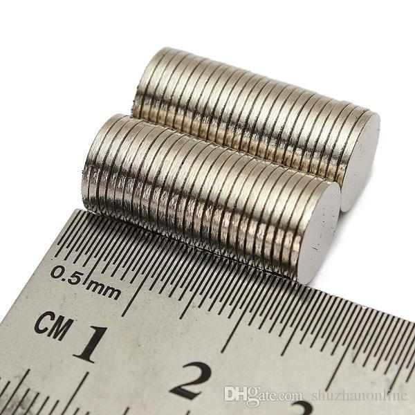 N50 10mm x 1mm 강한 디스크 둥근 희토류 네오디뮴 자석