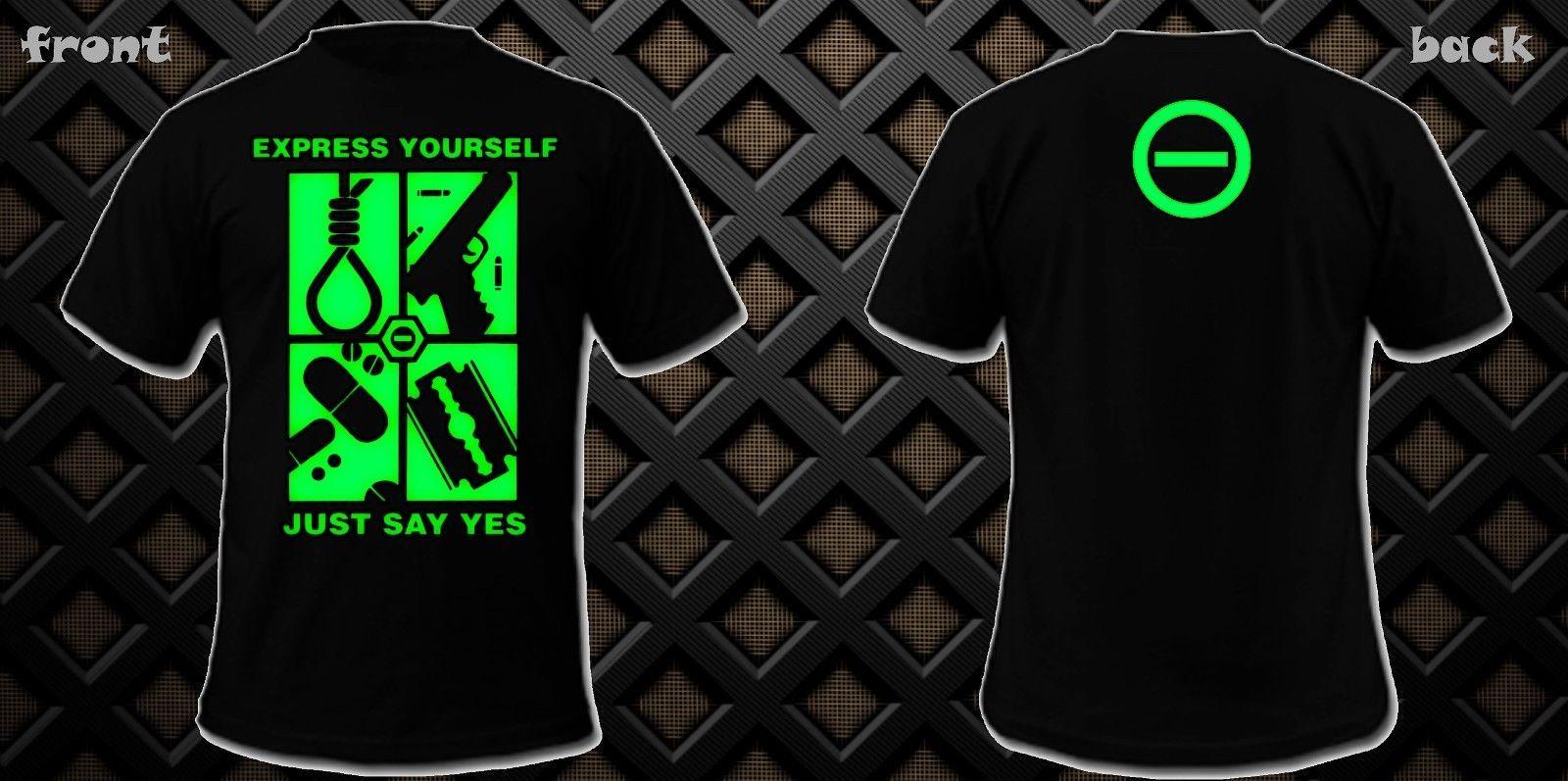 12b13091f Compre Nueva Camiseta Type O Negative Just Say Yes Camiseta Estampada Dtg  Camiseta De Verano De Manga Corta 100% Algodón A  24.2 Del Lontimestore