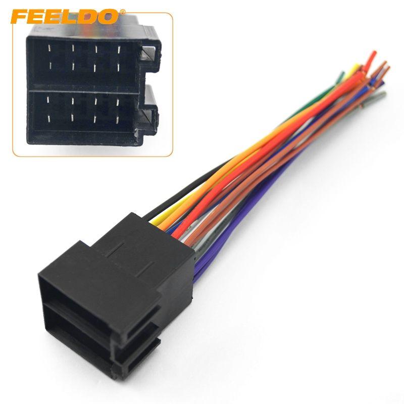 2019 feeldo car oem audio stereo wiring harness for volkswagen audi