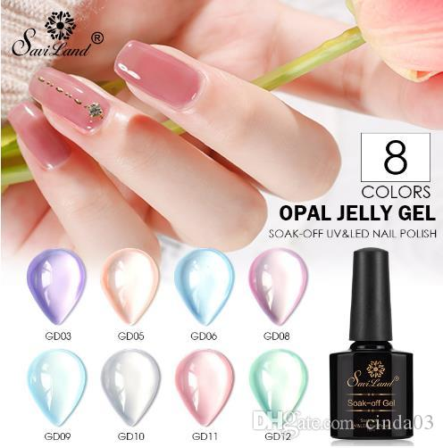 Translucent Candy Color Gel Nail Polish Varnish Lacquer 10ml Glass ...