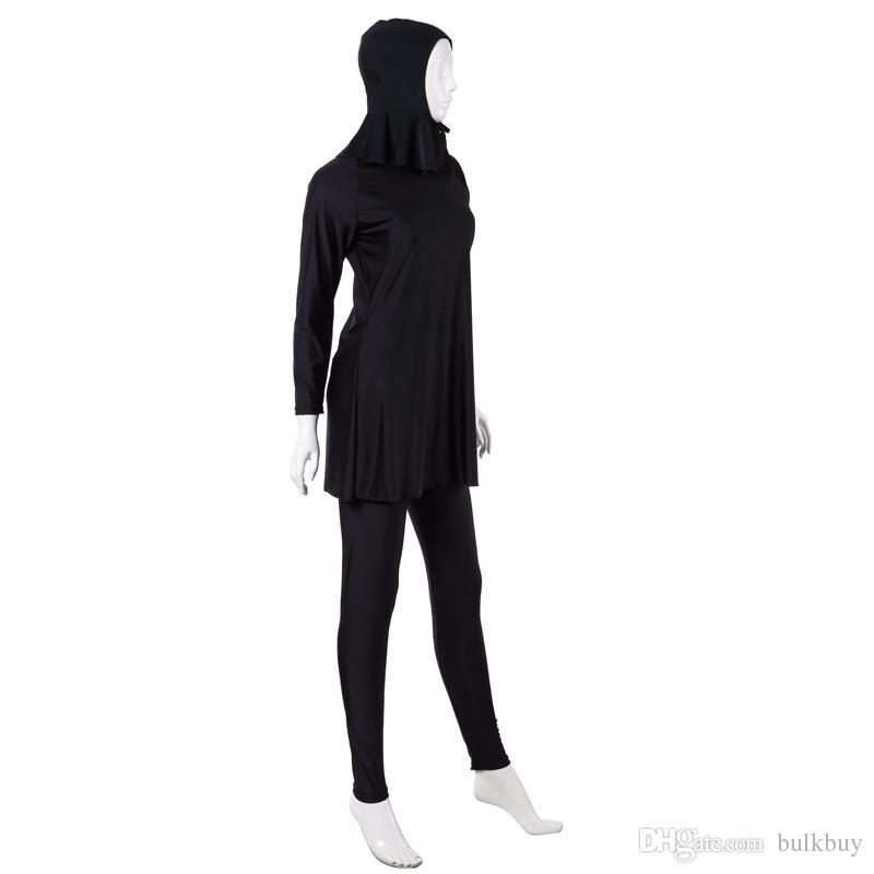 رواج التواضع ملابس السباحة ملابس السباحة الإسلامية ملابس بحر ملابس الغطاء الكامل