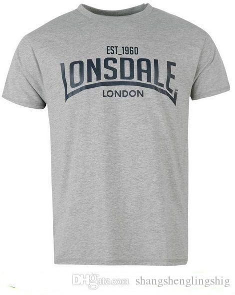 69523a4eda Acheter Nouveau T Shirt De Boxe Pour Homme Lonsdale De $20.29 Du Ktmtshirt    DHgate.Com