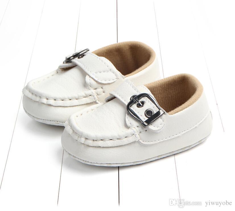 Yeni Bebek Bebek Ayakkabıları Ilk Yürüyüşe Yumuşak Taban Toddlers Beşik Ayakkabı Serin Yenidoğan İlk yürüyüşe ücretsiz DHL ...