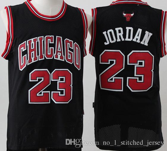 69a356f002fb Retro Mesh AJ 23 Michael Chicago Bulls Jersey Men s  15 Vince Carter  Basketball Jerseys Stitched Logos Free Shipping Online with  26.02 Piece on  ...