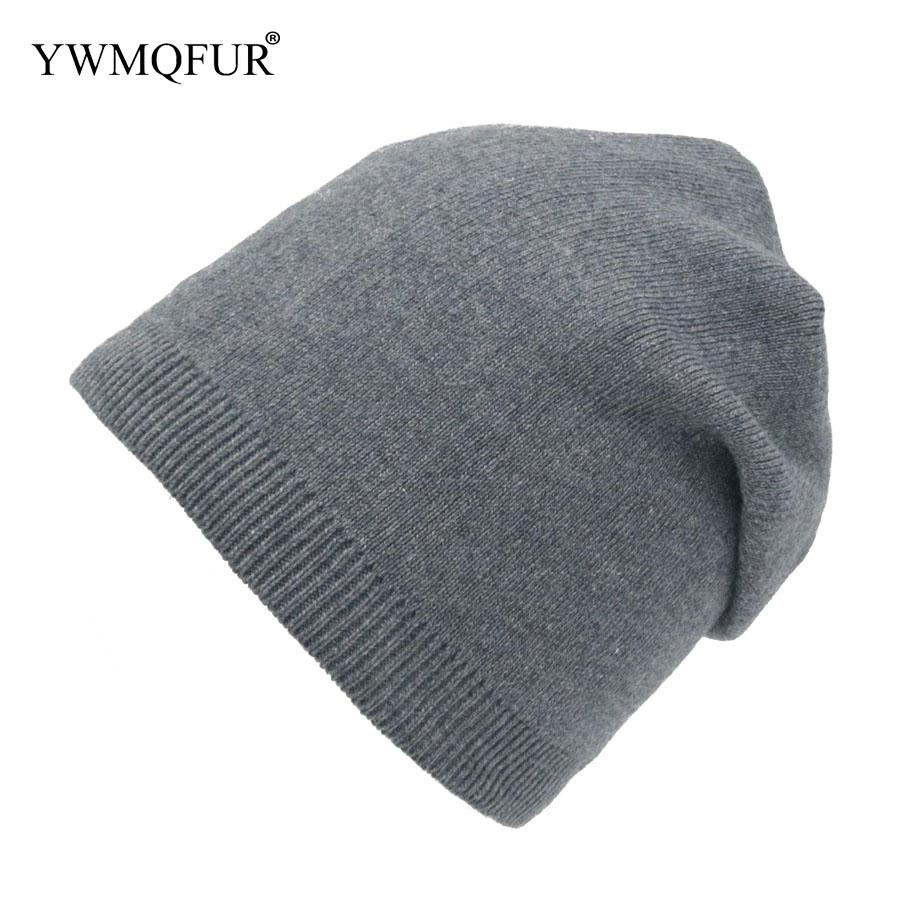 699c3f36477fc 2019 Women Beanies Hats For Spring And Autumn Hand Knitted Wool Top Quality  Female Solid Color Popular Caps 2018 New Arrival YWMQFUR From Cumax