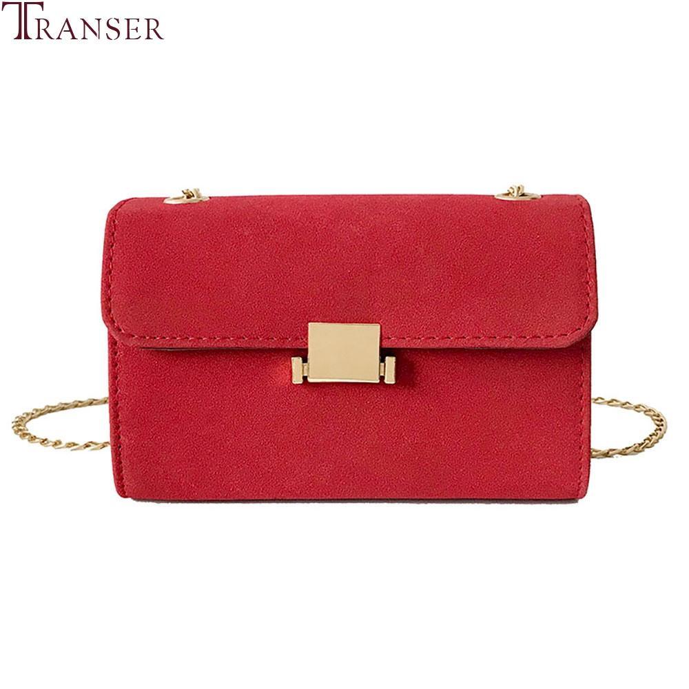 af4876ef6073 Transer Women Shoulder Crossbody Bag Fashion Chain Matte Leather Messenger  Bags Female Handbags Hot Sale Bolso Mujer Purse  35 Shoulder Bags Cheap  Shoulder ...