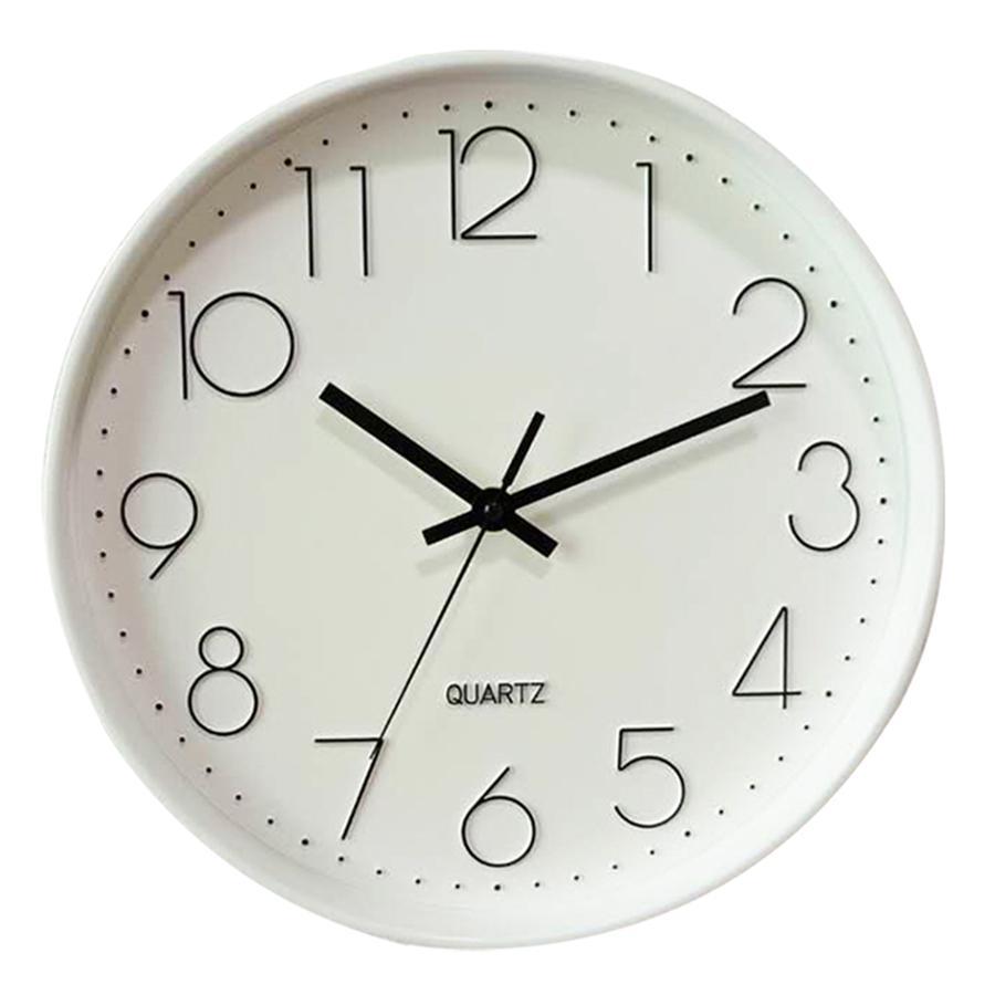 Compre Silencioso Simple Reloj De Pared Grande Acrílico Diseño ...