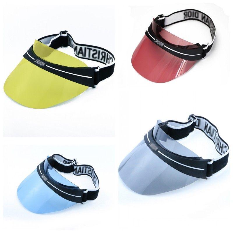 ab0ca704198 Luxury Designer Men Women Cap Visors With Glasses Lens Summer Trend  Ultraviolet Proof Outdoor Travel Sunshade Caps Adjustable 38dy ZZ Cap  Visors Hat Online ...