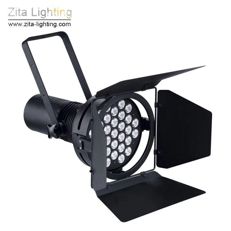 2 Pz / lotto Zita Lighting Auto Show Luci Motor Car Exhibition Stage Lighting Par Lampada DMX512 31X10W Gallery Fair Hall Convention Lighting