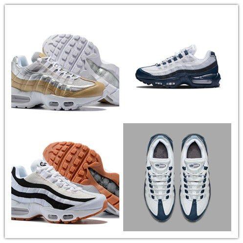new style b8f0c 2c6a3 Acheter 2018 Date 95 Essential Running Shoes Femmes Hommes Entraîneur  Coussin Surface Respirant 95 Édition Spéciale Sport Sneakers Chaussures  Taille 36 46 ...