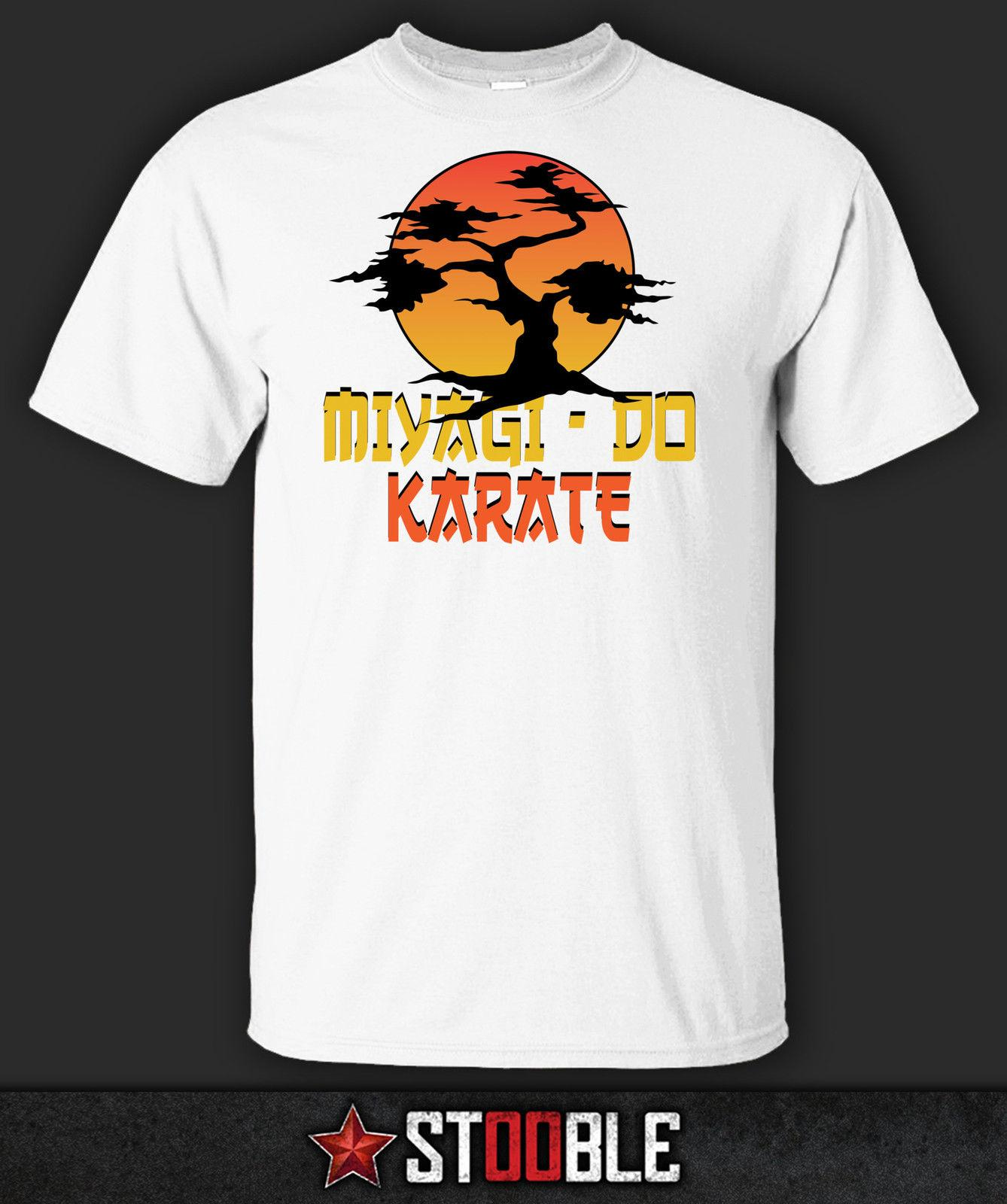 bb641387251 Print T Shirt Men Miyagi Do Karate T Shirt Direct From Stockist Nerd T  Shirts Design Shirt From Shorttshirt
