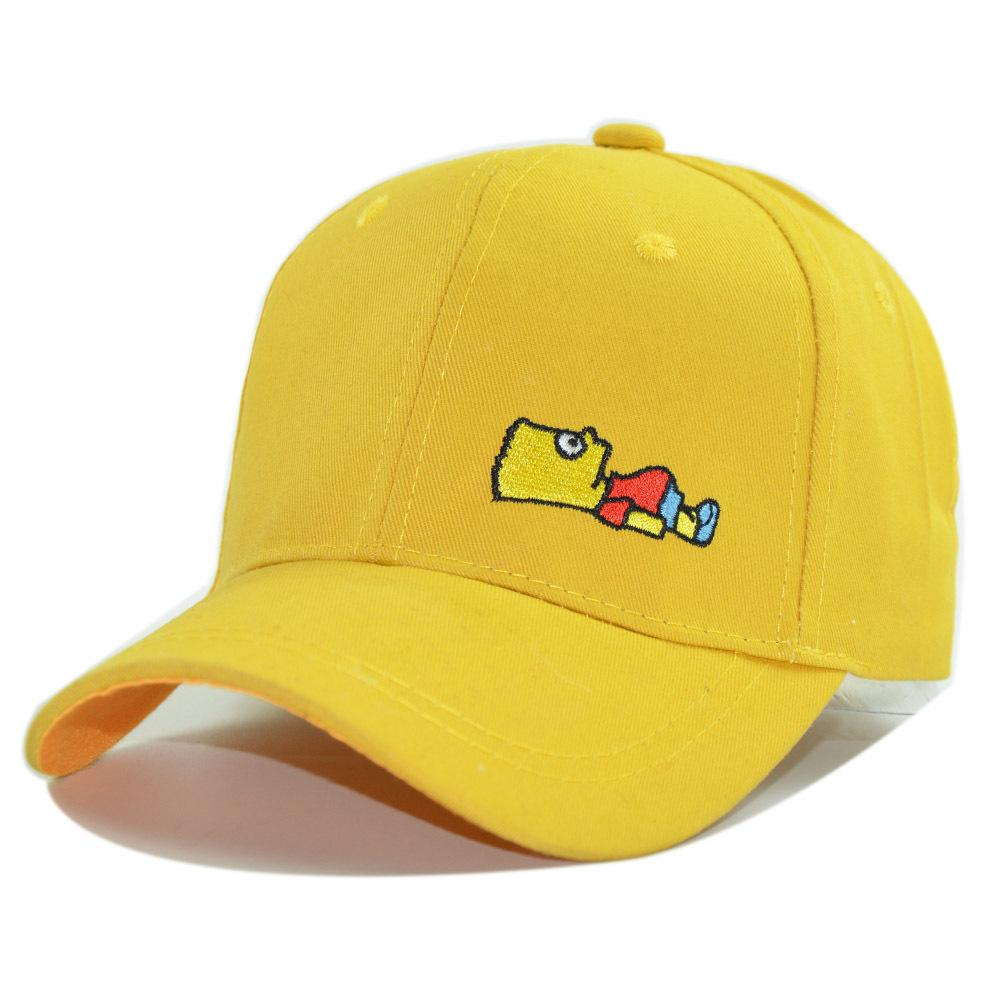 4610772cb01 New Kids Caps Unisex Cartoon Boys Girls Embroidery Baseball Cap Baby 2 10  Years Summer Toddler Hats Trucker Caps Flat Bill Hats From Heathere
