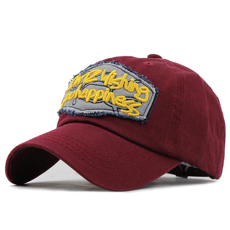 Baseball Cap 100% Cotton Women Casual Snapback Summer Fall Hat For ... b62091a68d96