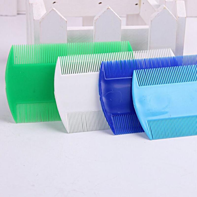 Double Sided Nit Comb Fine Tooth Head Lice Hair Combs for Kids Pet Flea 100pcs