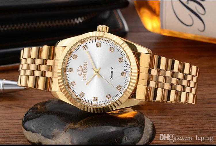 Sıcak Satış Moda lady saatler adam / kadın kol gümüş Stainlesa Çelik Bilezik Saatı Marka kadın / erkek saat lüks saatler