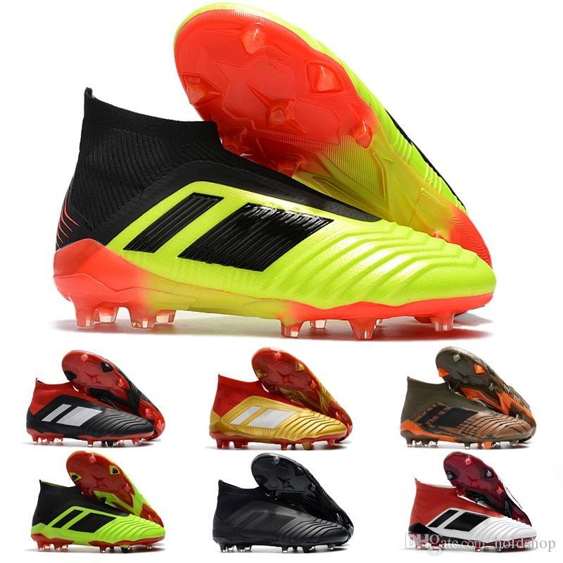 c04111ddb0f6 2019 V SX Neymar Soccer Shoes Predator 18+ X Pogba FG Accelerator DB Kids  Men Mercurial Superfly FG Football Cleats Real Madrid Trainers Designer  From ...