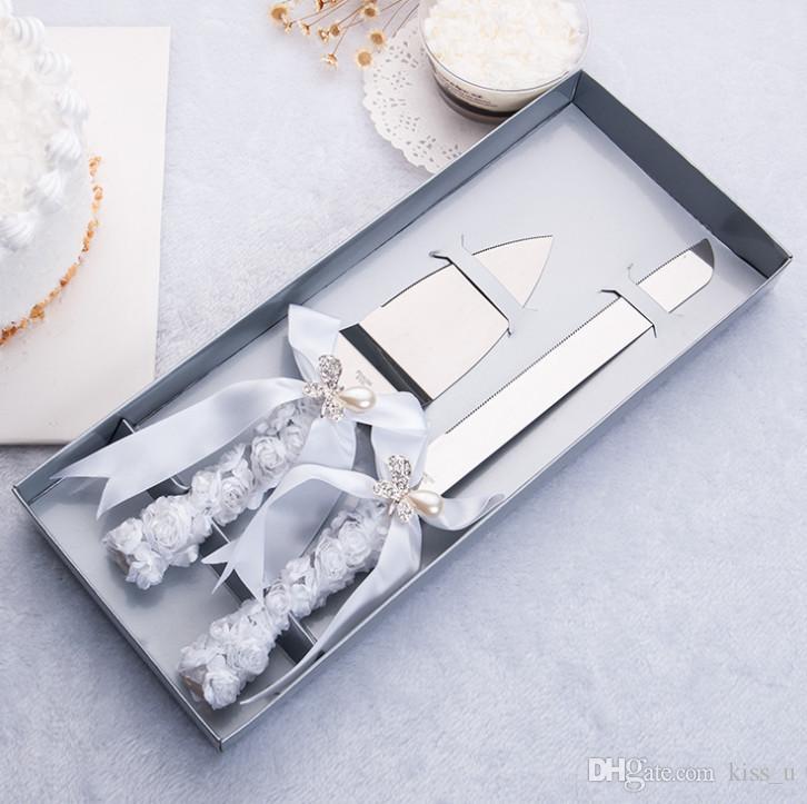 Wedding Cake Knife Silver Cake Shovel Dessert Stainless Steel