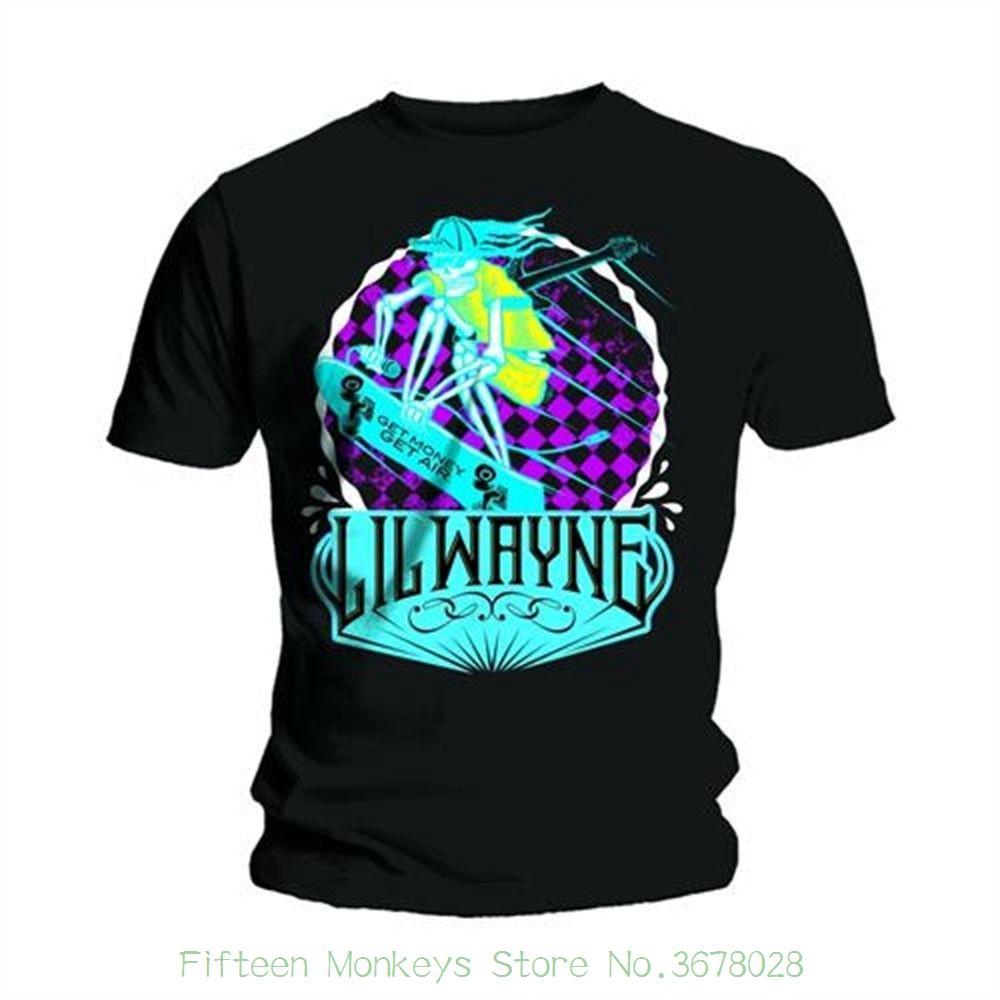 026d4666 Short Sleeve T-shirt Tops Lil Wayne Men's Get Money Short Sleeve T-shirt ,  Black , Large Mens Tee Online with $30.94/Piece on Fifteenmonkeysstore's  Store ...
