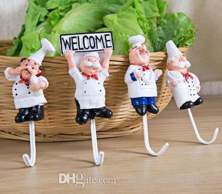 Factory Direct Kitchen Cartoon Shape Resin Power Cord Storage Rack Hooks Wall Hanger