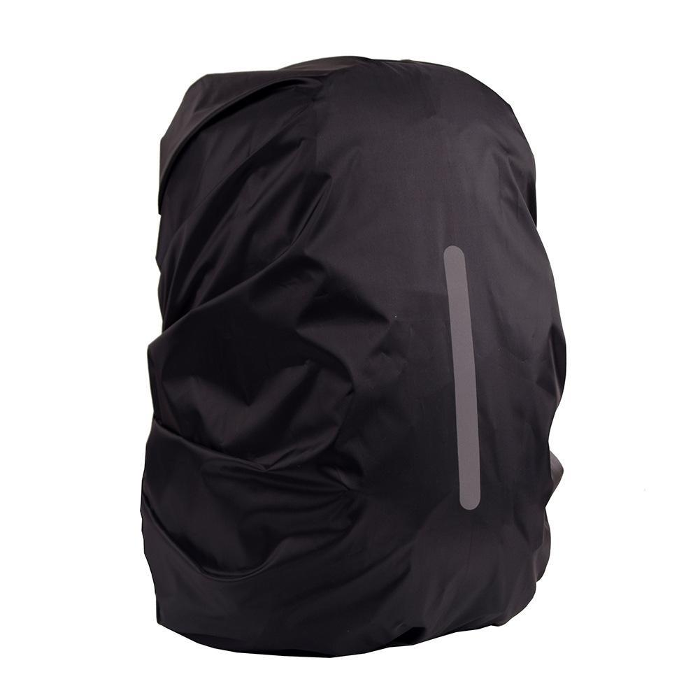 93aeb9f32f5 Waterproof Backpack Rain Cover Outdoor Night Safety Reflective Light Rain  Cover Black Leather Backpack Backpacks For School From Tinypari, $34.58|  DHgate.