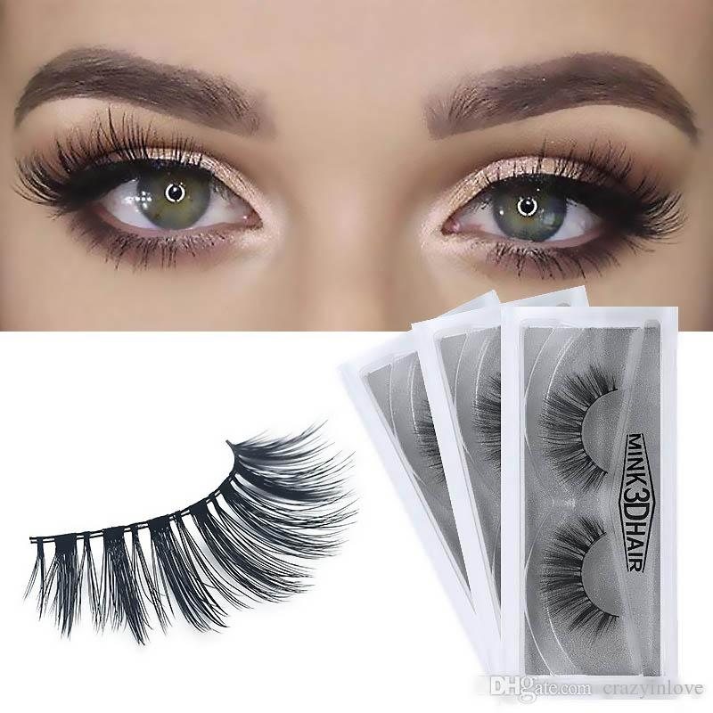 27a60ce2e94 12 Models Hot High Quality Clone 3D Mink Eyelashes Thick Natural Soft  Synthetic False Eyelashes Extension Eyelash Chemical Fiber Thick Natur Kiss  Lashes No ...