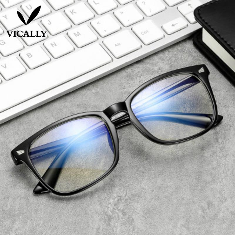 Brand Fashion Metal Glasses Frame Retro Woman Men Reading Glass Frame UV Protection Clear Lens Computer Eyewear Eyeglass