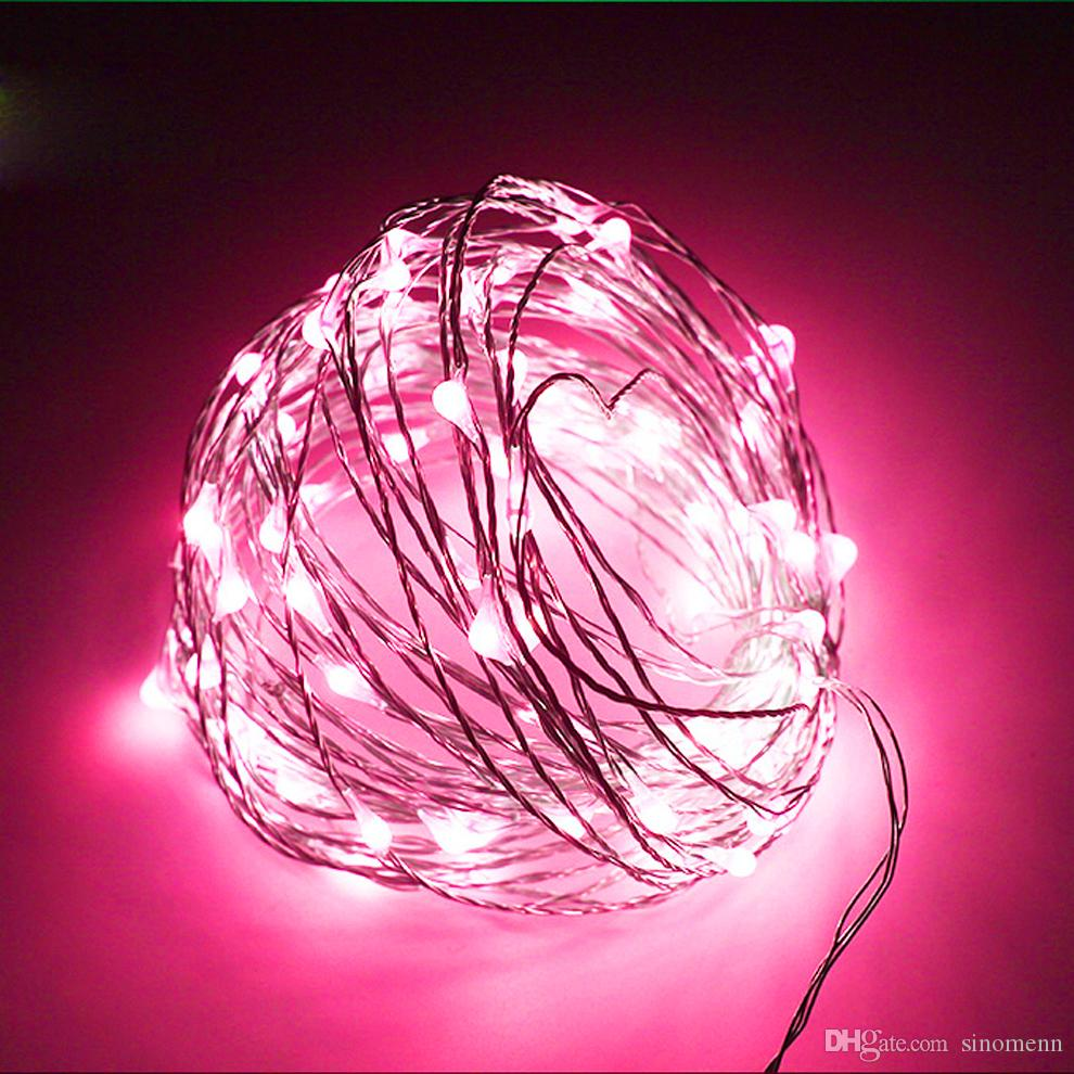 10m 100 LED Solar Lambalar Bakır Tel Peri Dize Avlu Işıklar 33ft Su geçirmez Açık Bahçe Noel Düğün Dekorasyon