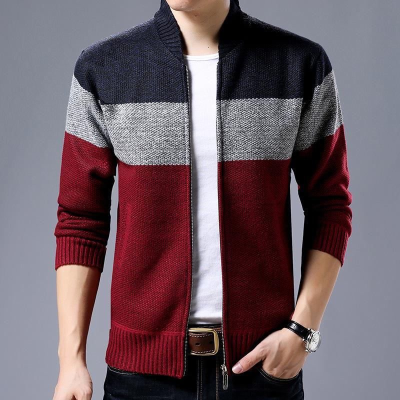 0535e19630a 2019 Men S Long Sleeved Vertical Collars
