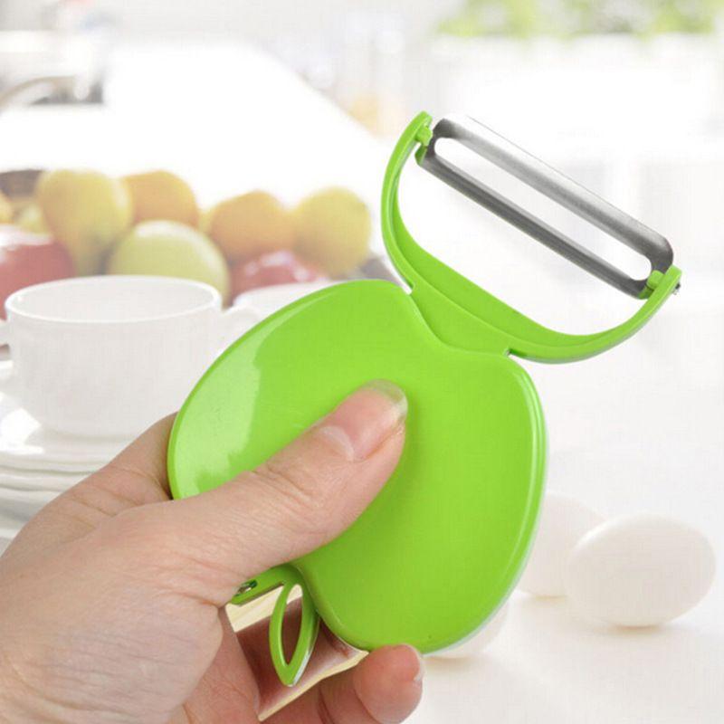 Utensili da cucina più economici Semplice lama in acciaio inox pieghevole Apple Peeler Apple Planing Fruit Peeler Fruit Planing Peeler
