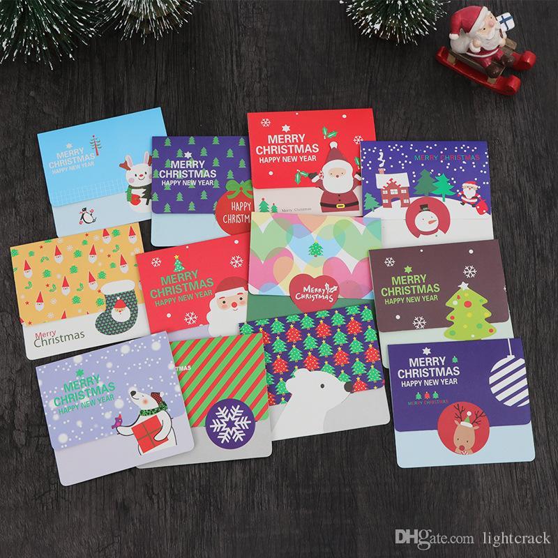 Großhandel Korea Creative Christmas Blessing Karte Traditionellen ...