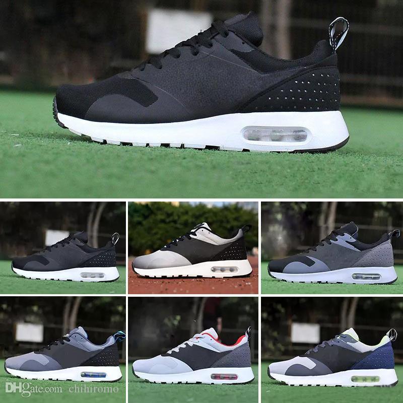 new arrival 681ee 99eb6 Compre Nike Air Max 87 Airmax 87 2018 87 90 Malla Tavas Camuflaje Para Mujer  Zapatos Para Hombre Auténtico Thea Negro Rojo Blanco Aire Caushion Sports  ...