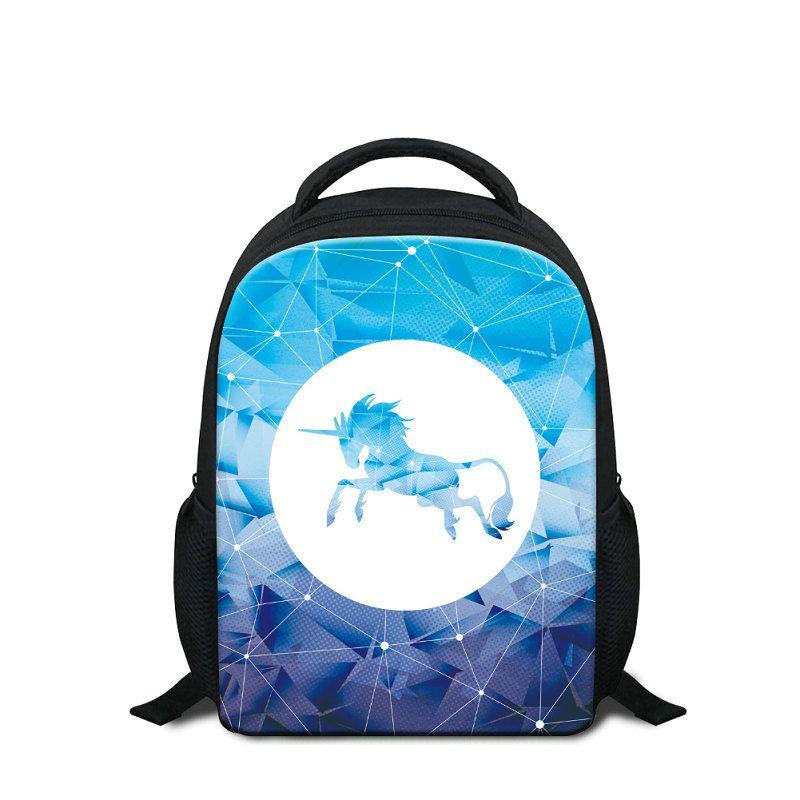 93db9fe5a0ae Children Fashionable Kindergarten School Bags Cute Cartoon Unicorn Print  Shoulder Bag Pack Kid Mini Rucksack Girls Rugtas Backpack Wholesale